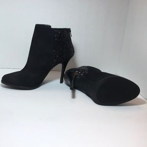 Massimo heeled ankle boots black 8.5